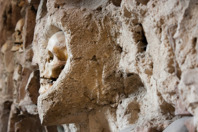 Human skulls shouldn't be in towers | Kristina Bojovic/shutterstock