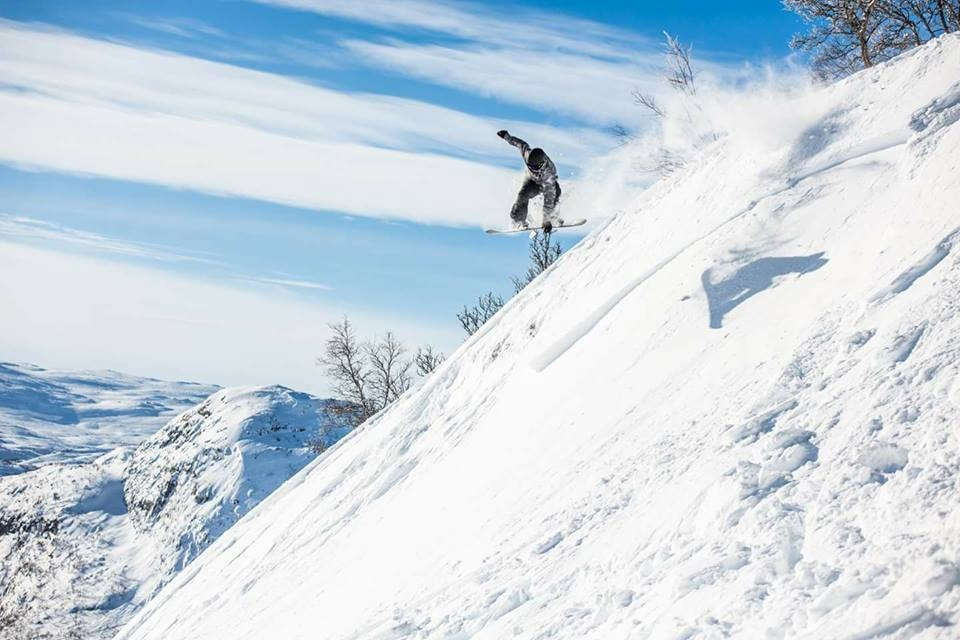 Snowboarding at Hovden Alpinsenter | Courtesy of Hovden Alpinsenter
