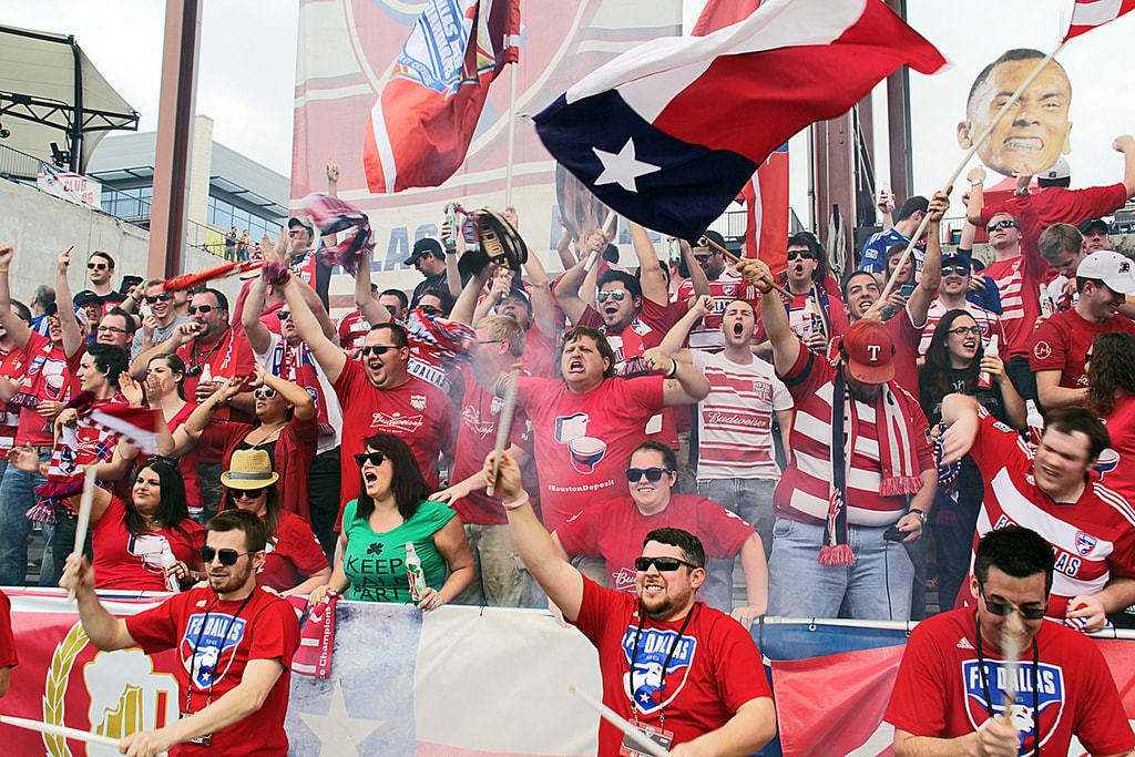 FC Dallas fans │Courtesy of VisitDallas