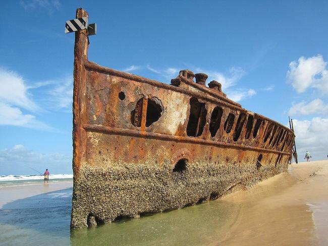 SS Maheno shipwreck | © Fabian Chaveriat/Wikimedia Commons