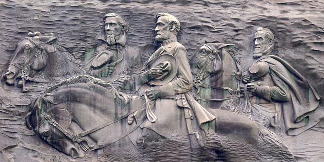 Stone Mountain Carving:Atlanta