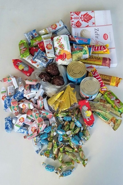 """Belarusian sweets 