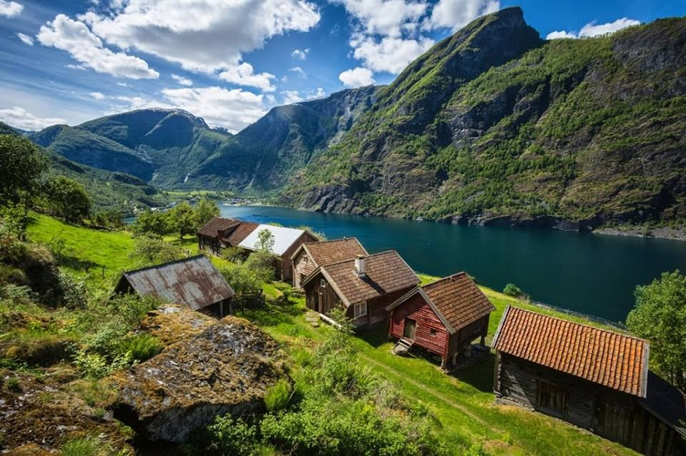 The Otternes village next to Sognefjord | Courtesy of Visit Sognefjord