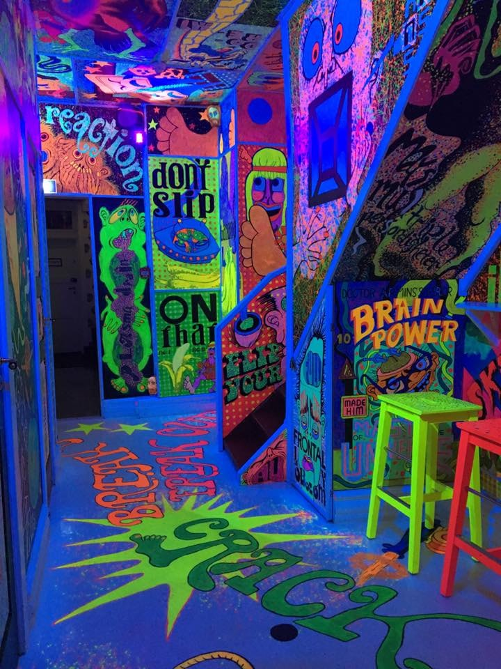 The schizofrenia room of Misfornøyelsesbar | Courtesy of Misfornøyelsesbar