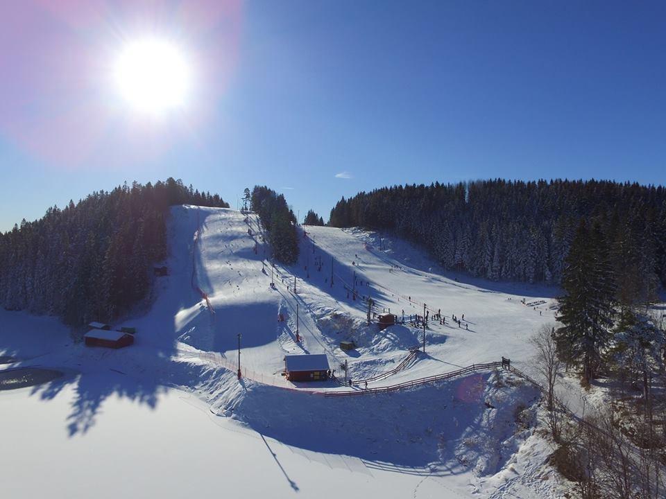 The two slopes of Oslo skisenter | Courtesy of Oslo skisenter