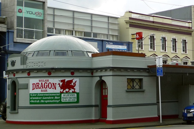 The Welsh Dragon