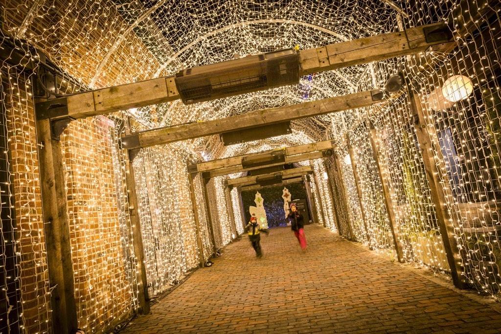 Illuminated installations | Courtesy of Toronto Light Festival
