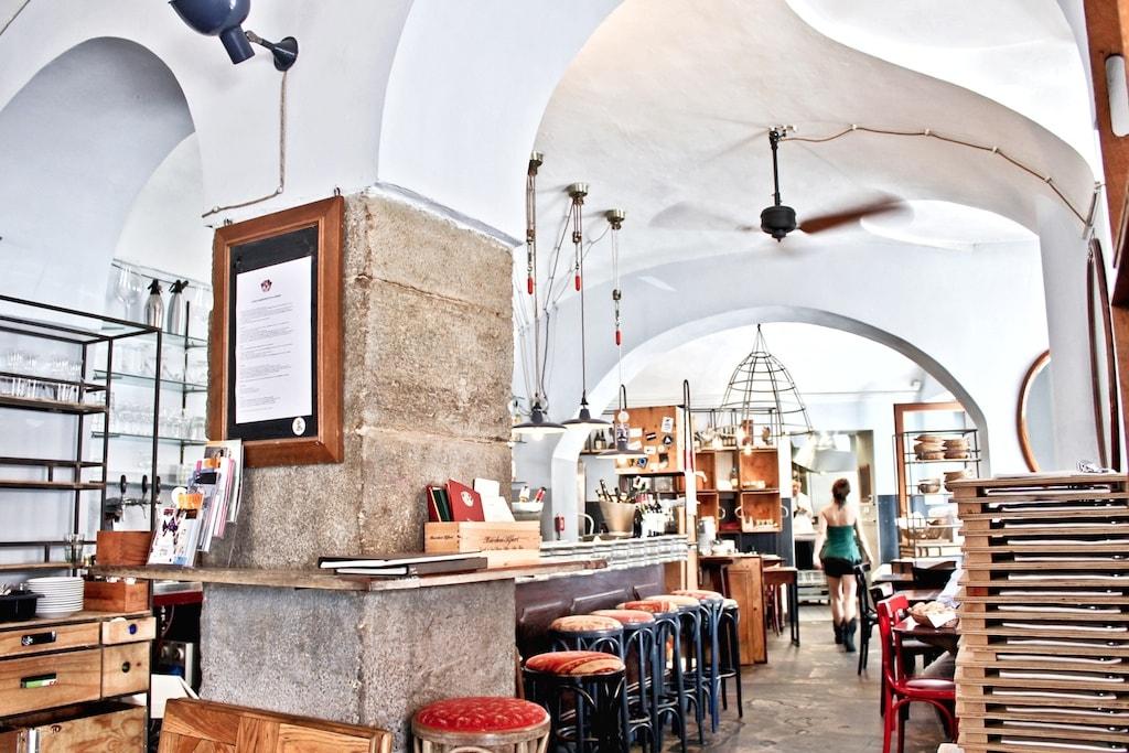 Inside bar and bistrot Tre Galli, Turin | Courtesy Tre Galli Photo: Stefania Bonatelli photography