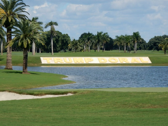 trump golf doral