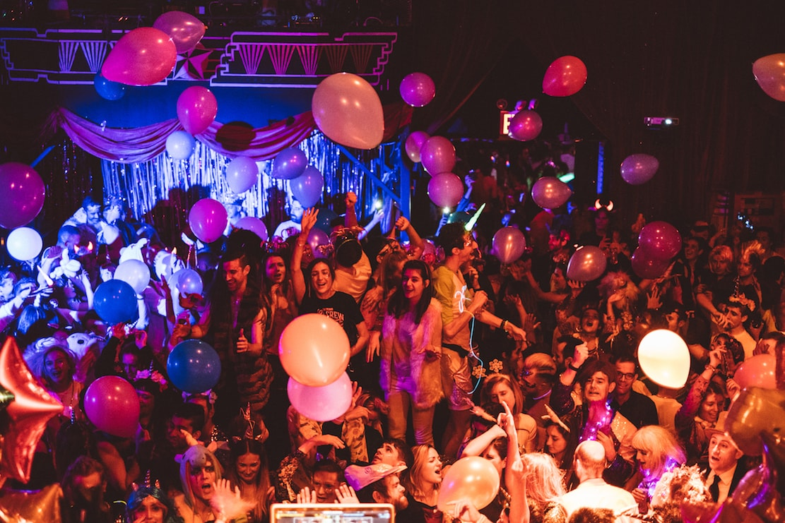 Unicornicopia party at House of Yes | © House of Yes