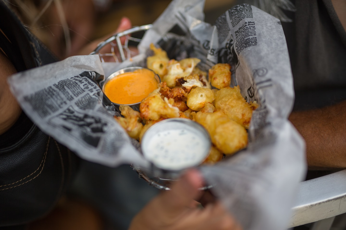 Cheese curds from The Iron Horse Hotel | © VISIT Milwaukee