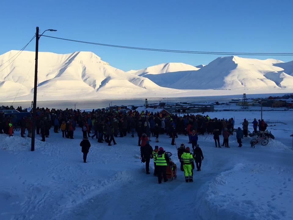 Waiting on the sun | Courtesy of Longyearbyen Kulturhus