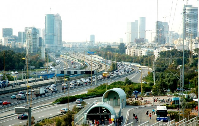 Morning Traffic - Tel Aviv