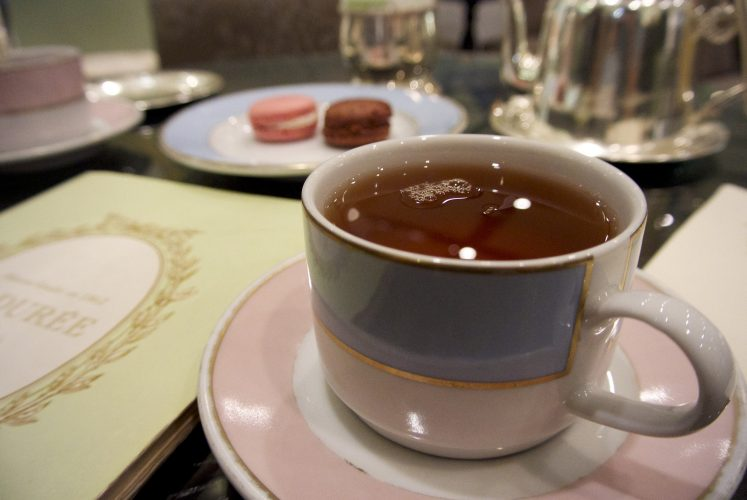 Ladurée afternoon tea
