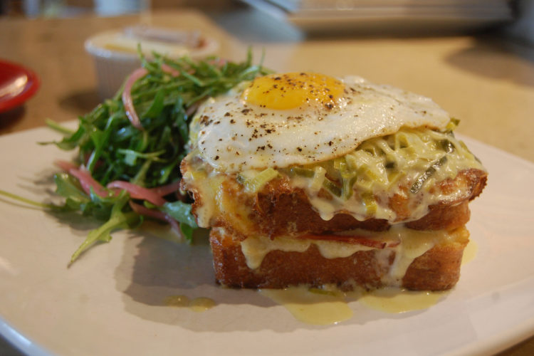 Croque Madame, like you can find at Lalo
