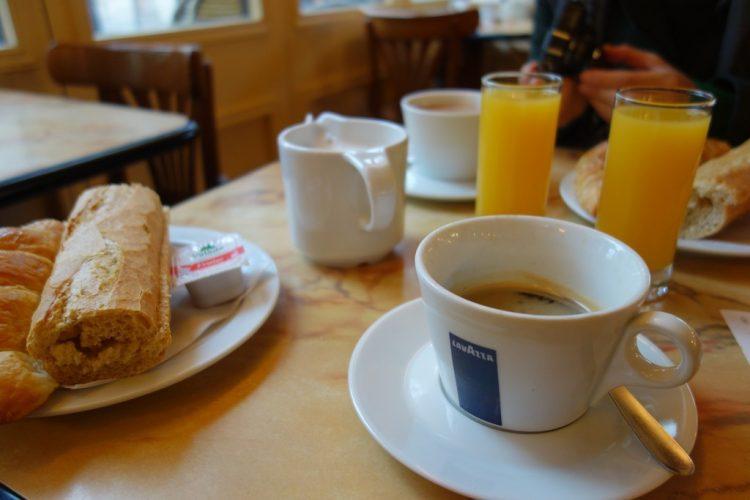 La Fábrica serves a set breakfast for less than three euros