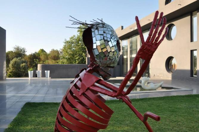 Sculpture de Najet Gherissi