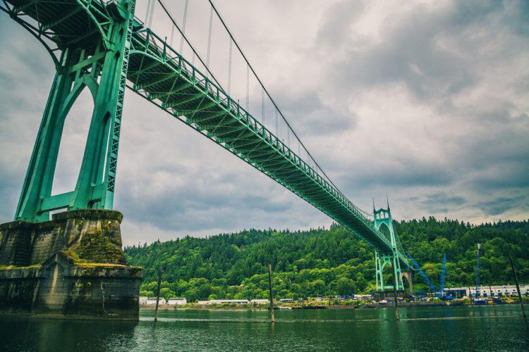 St. Johns Bridge, Portland