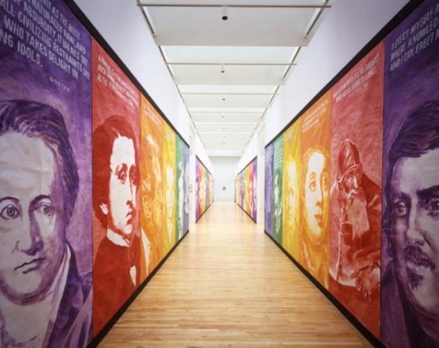 Pay For Your Pleasure, 1988, installation view, dimensions variable , The Museum of Contemporary Art, Los Angeles; Gift of Timothy P. and Suzette L. Flood, photo: Brian Forrest