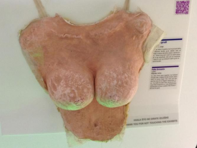 Display at the Museum of Broken Relationships