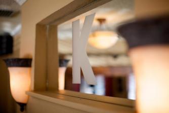 K Restaurant interior