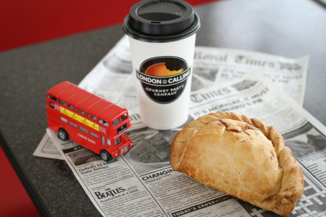 A signature pasty at London Calling