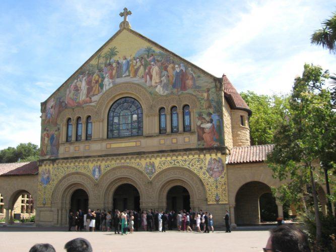 Memorial Church at Stanford