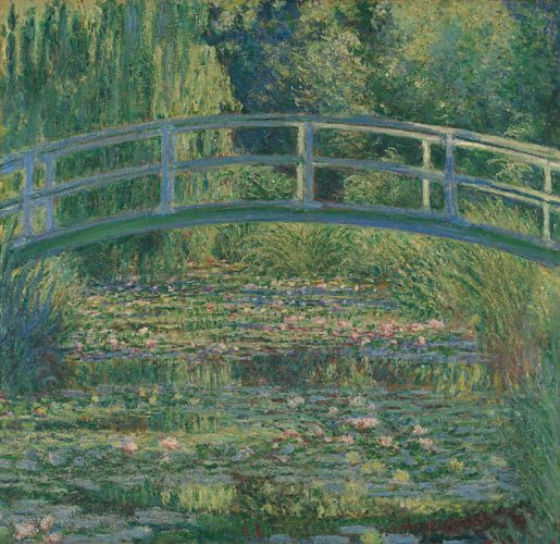 Claude Monet,The Water-Lily Pond, 1899