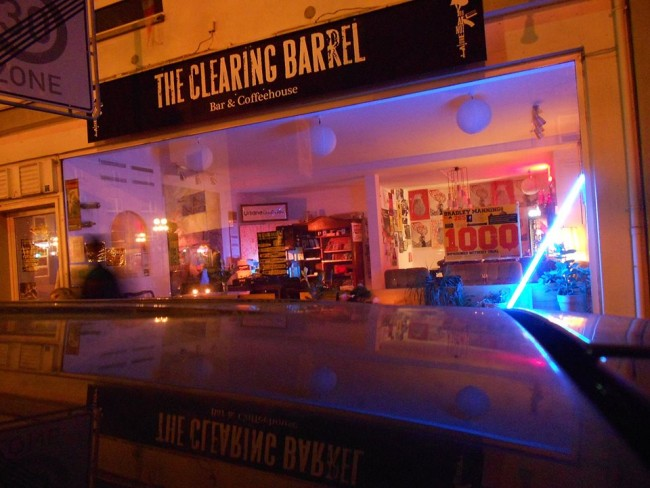 The Clearing Barrel Café-Bar / Military Counseling Network e.V., Kaiserslautern