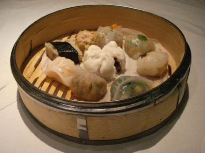 Dim Sum Basket at Pearl Liang