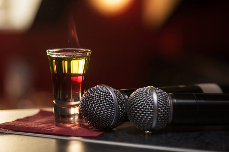 Karaoke bar at Harry's Karaoke Lounge Bar