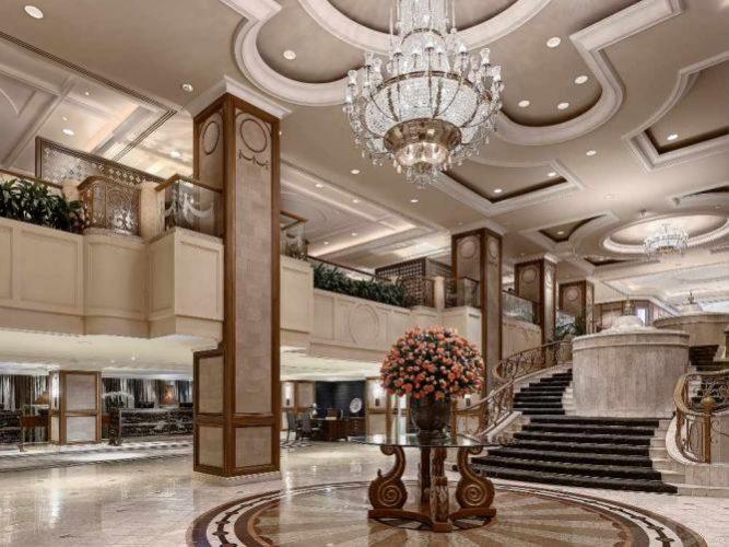 Langham Melbourne's lobby