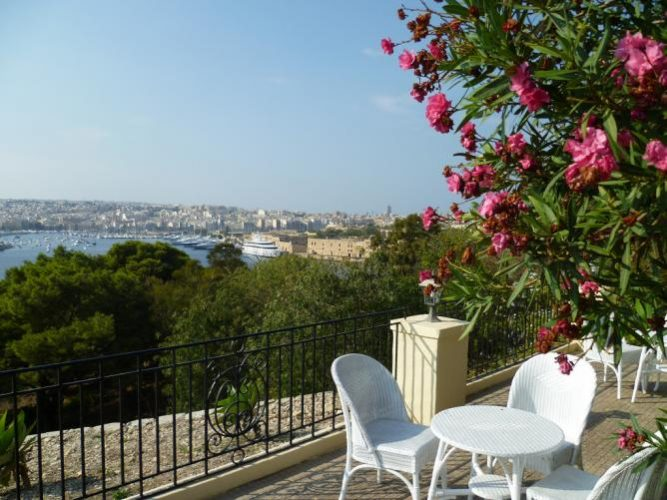 The gardens of the Phoenicia Hotel