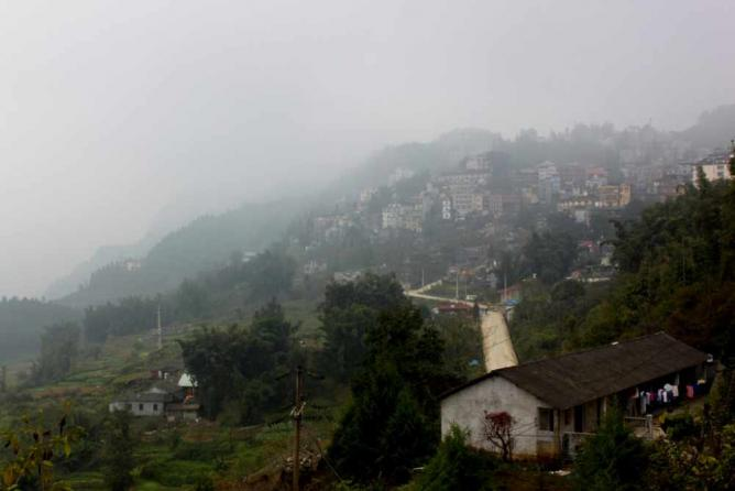 Sapa from afar