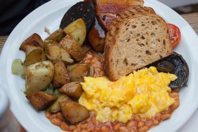 Fry-ups at The Breakfast Club