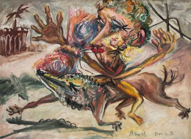 Arthur Boyd, Butterfly Man, 1943
