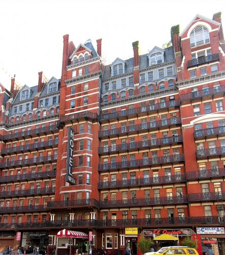 Chelsea Hotel in NYC