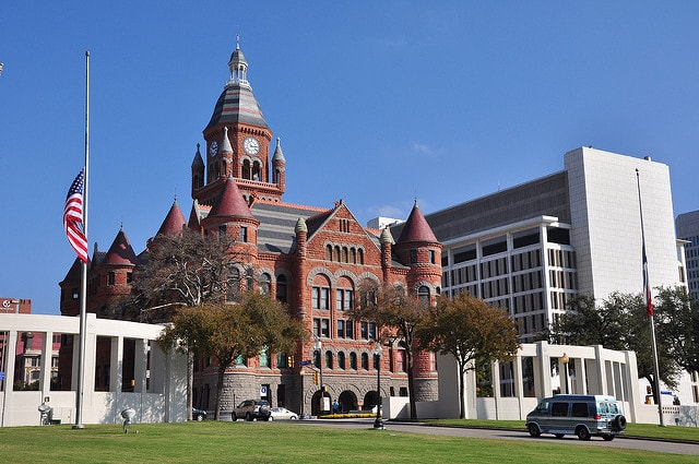 Old Red Museum is a Dallas county museum designed in Romanesque Revival architecture