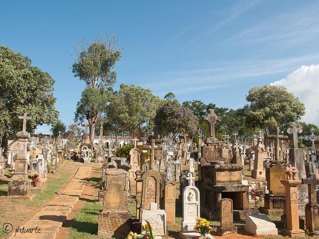 Cementerio de Barichara