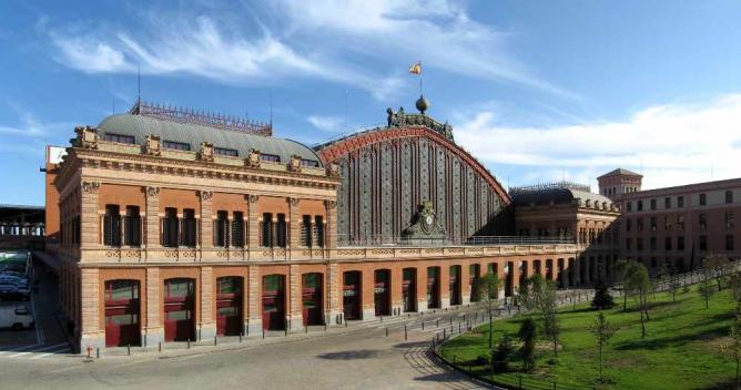 Atocha Train Station