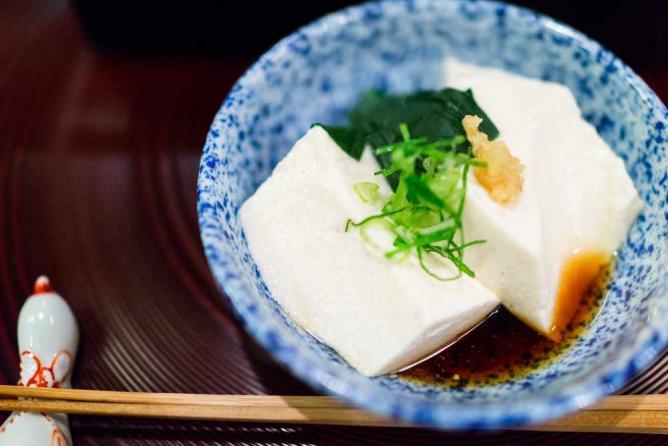 Tofu at Tosuiro
