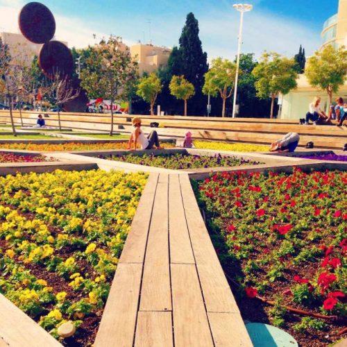 Kikar HaTizmoret Garden