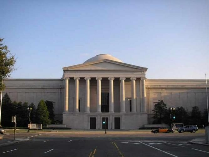 The National Gallery of Art in Washington