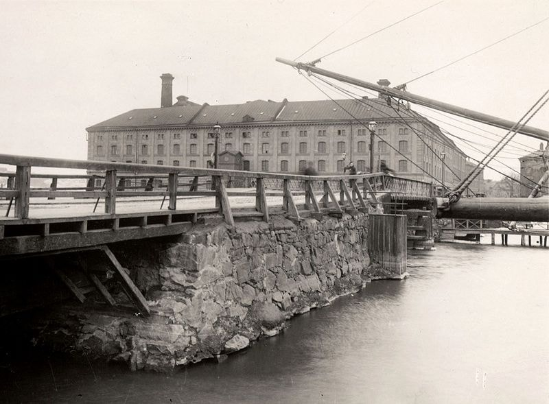 The Stockholm mill in 1860