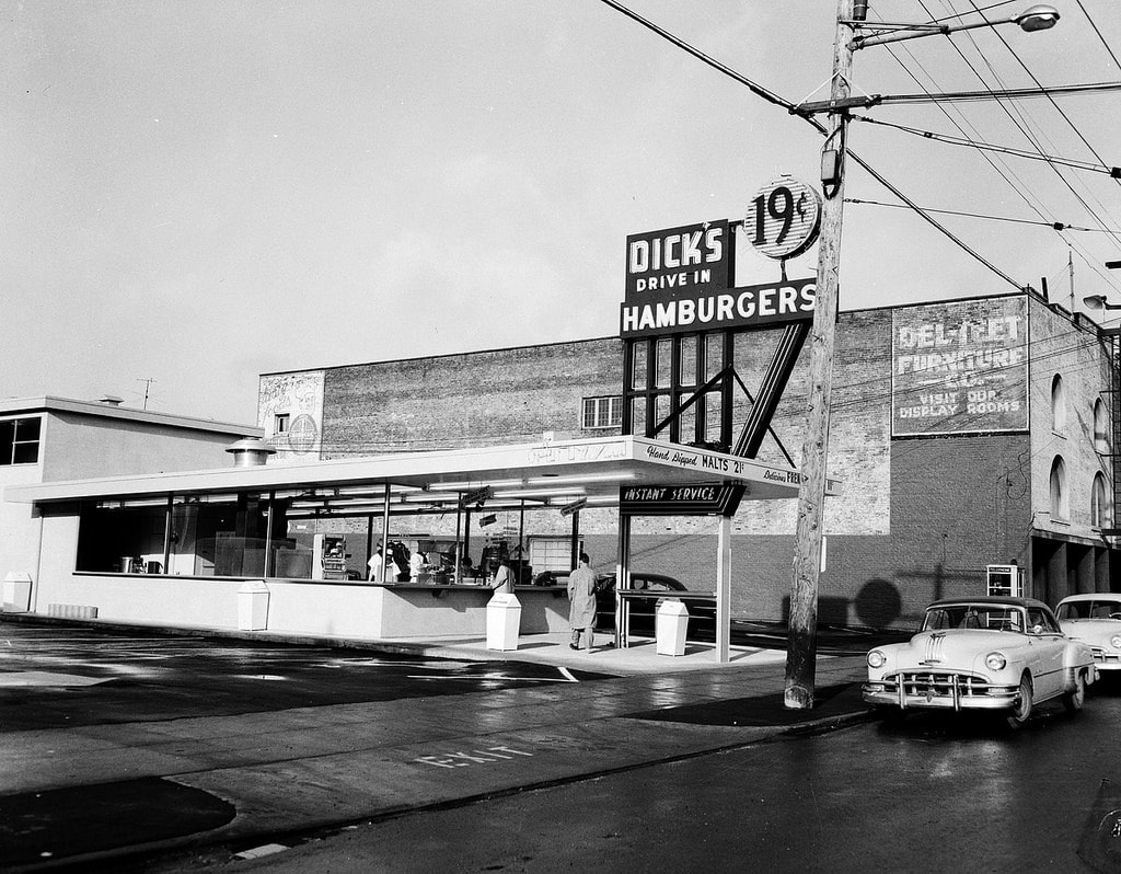 A Brief History Of Washington Staple Dick S Drive In