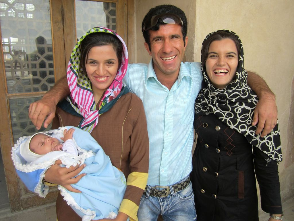 An Iranian family   © David Stanley / Flickr