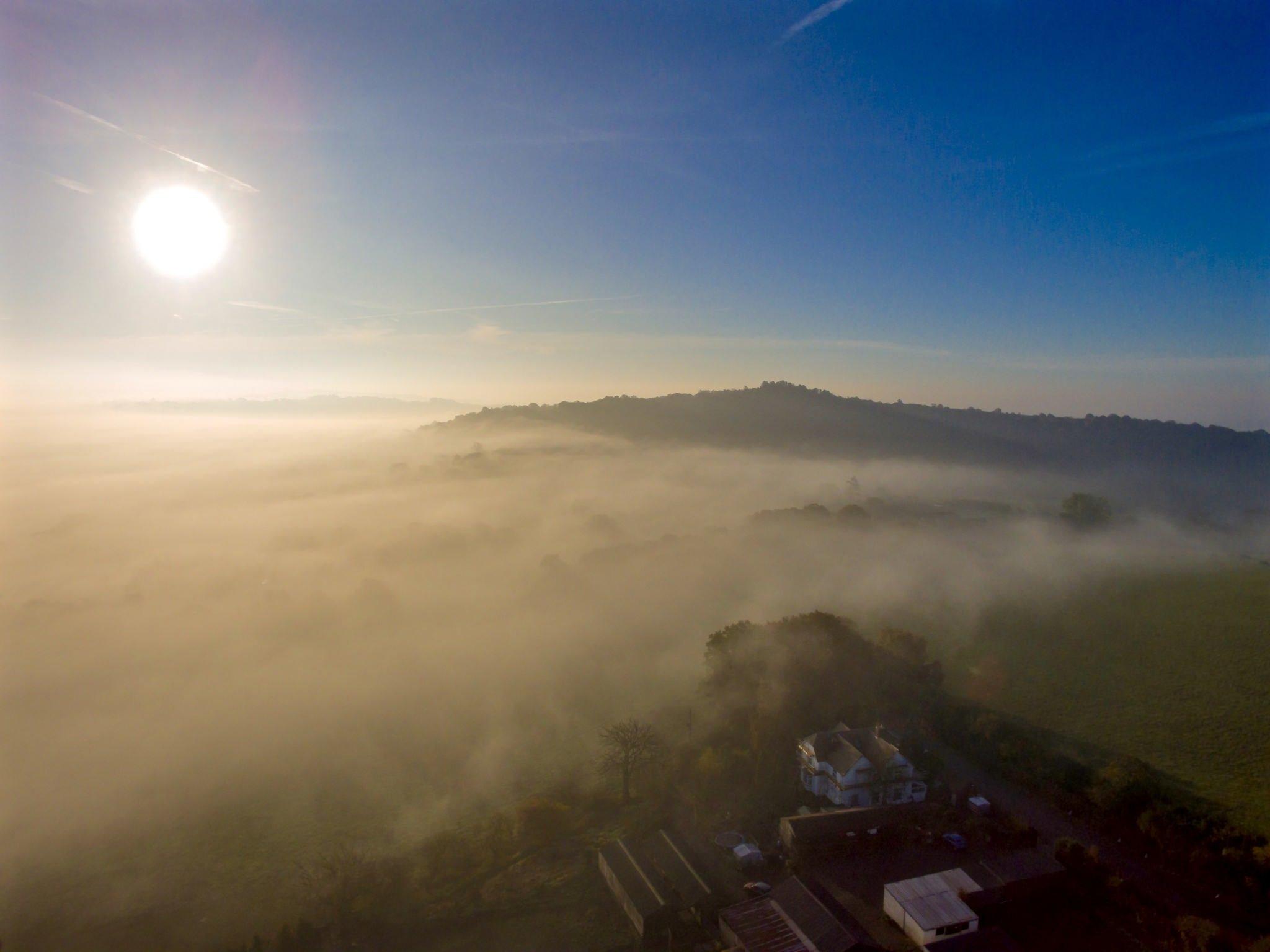 A foggy Clent Hills | © Chris Homer Flickr