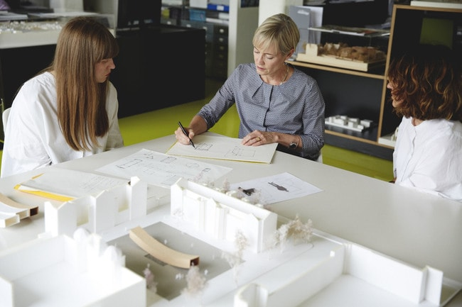 Alison Brooks Architects is a partner of the Women in Architecture campaign