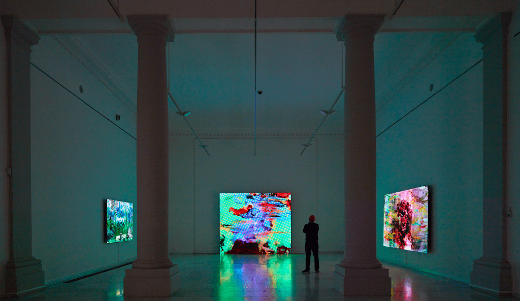 Angel Vergara, installation view. From Scene to Scene, exhibition at Royal Museums of Fine Arts of Belgium, Brussels 2017. Courtesy of Axel Vervoordt Gallery