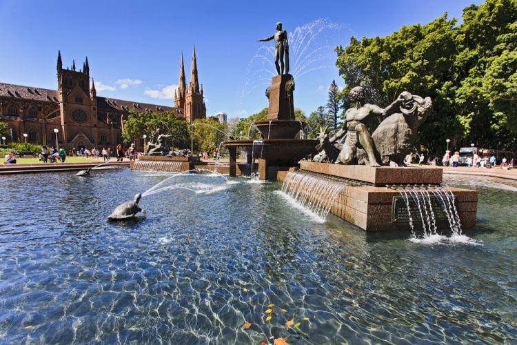 Archibald Fountain in Hyde Park, Sydney © Taras Vyshnya / Shutterstock